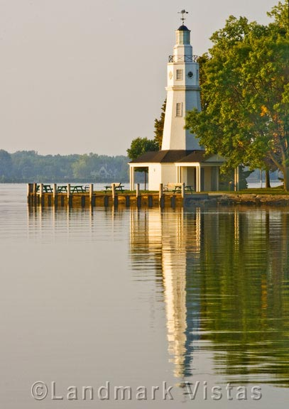 Neenah Lighthouse Reflections